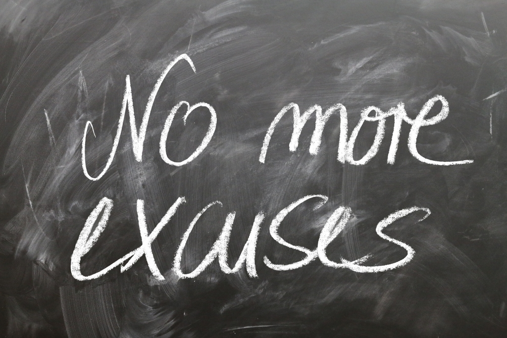 excuses for not losing weight